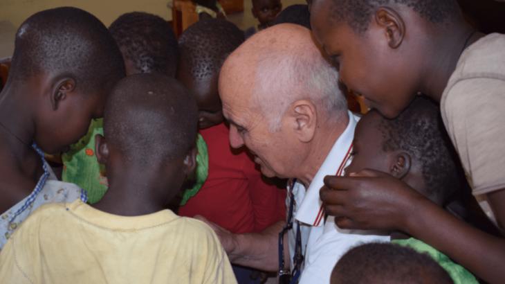 Piergiorgio in Uganda