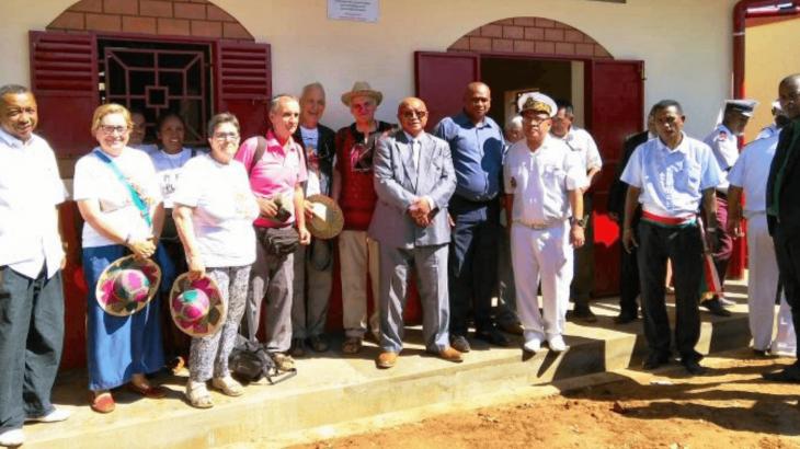 Inaugurazione del carcere di Marovoay in Madagascar.