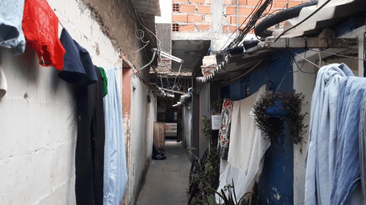 Cortiços a San Paolo, Brasile