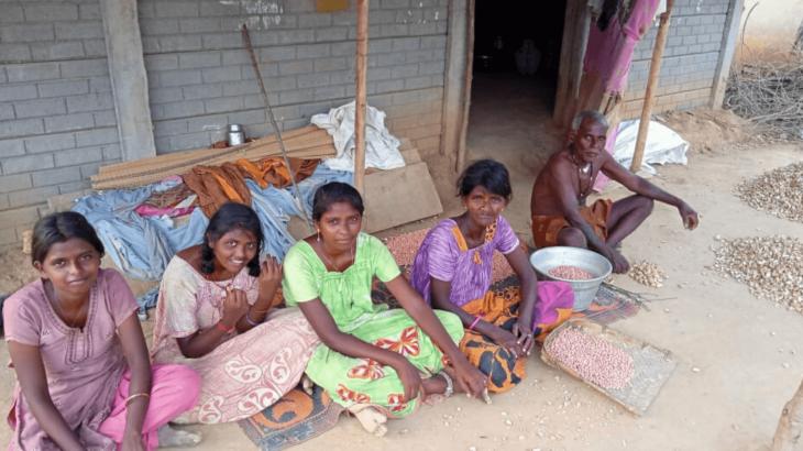 La famiglia di Ambrose, India