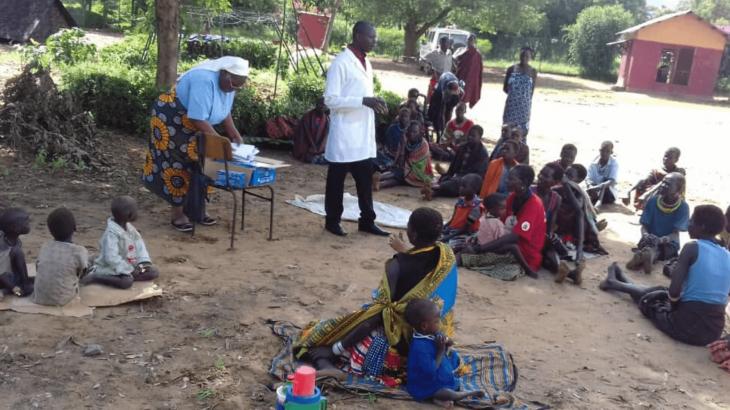 Formazione igiene in Uganda