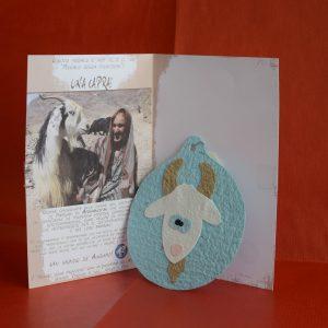 Cartolina capra