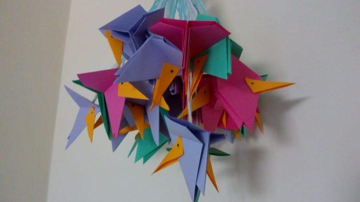 Colibrì di origami